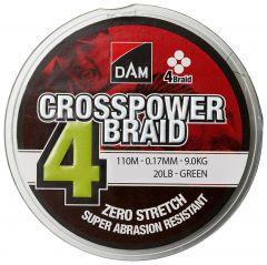 CROSSPOWER BRAID 4 0,17MM GRÖN