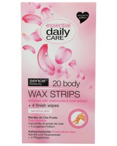 WAX STRIPS BODY 20 ST