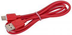 SINOX USB-C KABEL RÖD 1 M