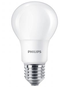 PHILIPS LED 8W E27 A60 2-PACK