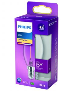 PHILIPS FILAMENT 1,4W E14 B35
