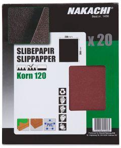 SLIPPAPPER 20 ST K120 FIN