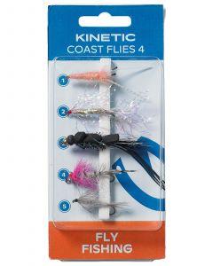 KINETIC COAST FLIES 4 5-PACK