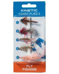 KINETIC COAST FLIES 3 5-PACK