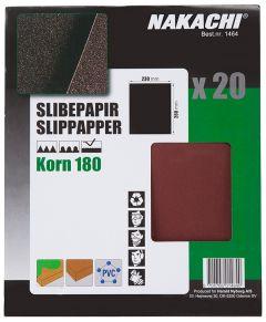 SLIPPAPPER 20 ST K180 MKT FIN