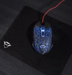 TRUST GAMING MOUSE+PAD GXT 783
