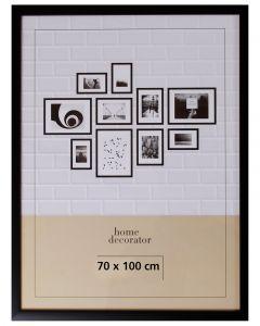 TAVELRAM 70 X 100 CM SVART