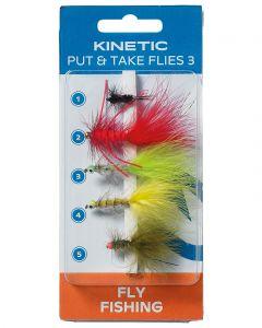 KINETIC PUT AND TAKE FLIES 3